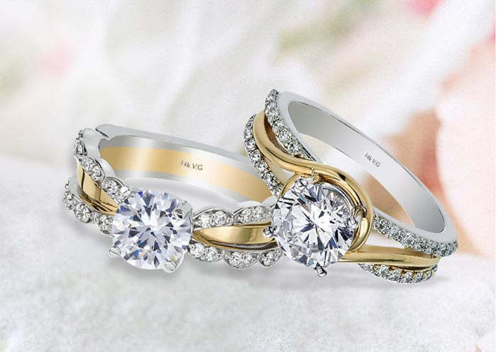 Forever Yours Engagement Rings at Founatin City Jewelers