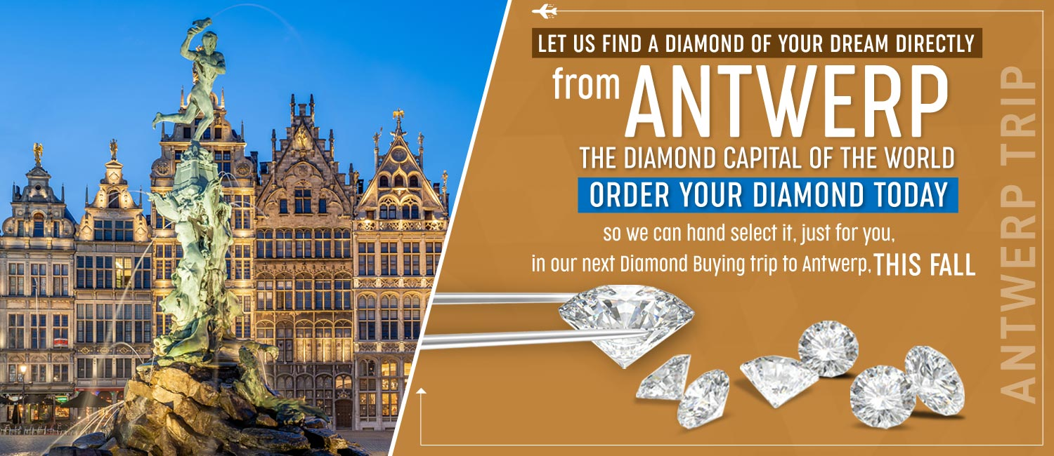 Antwerp Diamonds Available At Fountain City Jewelers